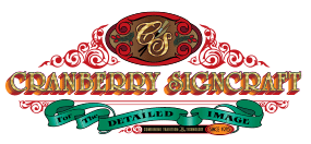 Cranberry Signcraft truck lettering, striping & design, MA